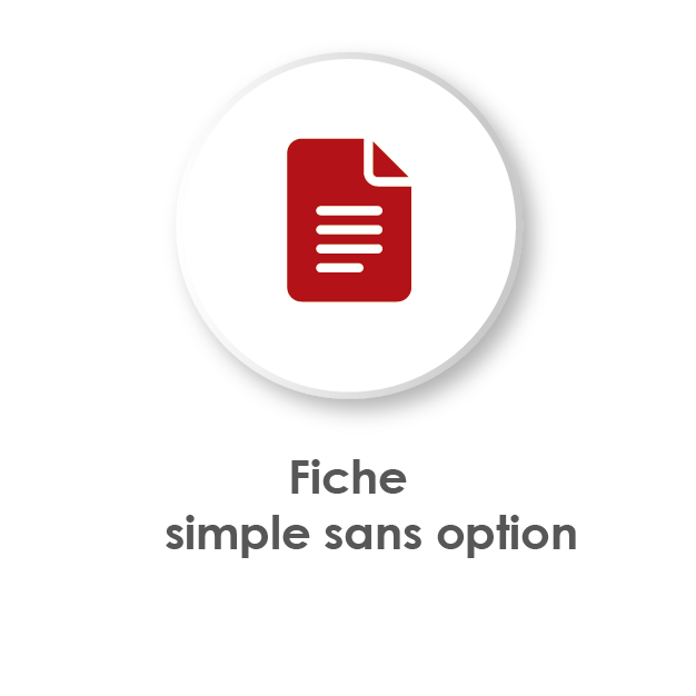 Fiche analyse de conformité sans option
